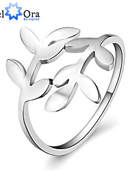 Genuine 925 Fine Jewelry Tree Leaf Rings For Women Fashion Designer Accessories Birthday Gifts Brand Jewelry