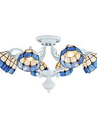 Lustres - Acrílico - Cristal/LED - Sala de Estar/Sala de Jantar