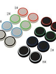 Silicone Noctilucent Cap Thumb Stick Joystick Grip for PlayStation4 PS2 PS3 PS4 Xbox one 360 Controller(2 PCS)