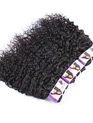 "3Pcs/Lot+10""-30""+Malaysian(Italian)Virgin Remy Hair+ color(natural color)+ kinky curly"