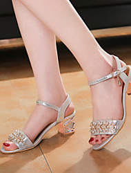 Women's Shoes  Stiletto Heel Gladiator Sandals Wedding/Dress Blue/Silver/Gold