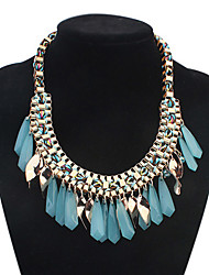 Colorful day  Women's European and American fashion necklace-0526162