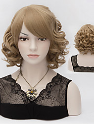 Short Hair Wigs Hair Wave Synthetic Hair Wigs
