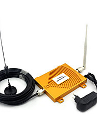 Full set GSM 900Mhz DCS 1800MHz Dual Band Signal Booster , Mini 2G Mobile Phone Signal Booster With Antenna