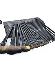 32pcs black Professional Cosmetic Brush Kit Makeup Brushes Set Case Make Up Brush Sets Makeup Tool
