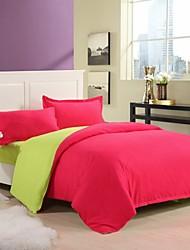 encore aloe vera coton couleur pure double 4 fois brique rouge, vert,
