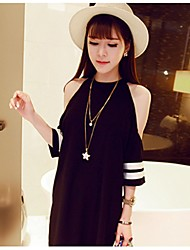 Women's CLOTHING STYLE Temperament of  Strapless Dress