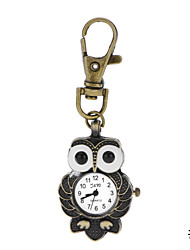 Vintage Classic Antique Big Eye Owl Pendant Pocket Watches for Women Men Hot Selling New Correntes Gifts Key Chain Watch