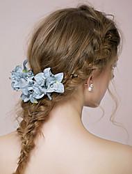 Damen Stoff Kopfschmuck-Hochzeit / im Freien Blumen 1 Stück