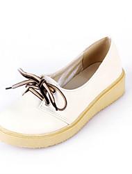 Women's Shoes  Flat Heel Ballerina Loafers Office & Career/Dress/Casual Blue/Yellow/Pink/Beige