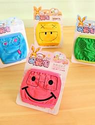 사랑스러운 웃는 얼굴의 아이들 방진 마스크 얼굴 마스크 의료 거즈 마스크 (랜덤 색상)