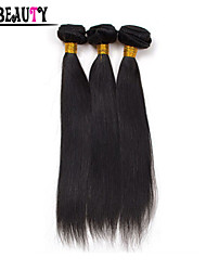 "1Pc/Lot 8""-28"" Peruvian Virgin Hair Natural Black Straight 6A Unprocessed Remy Human Hair Bundles Queen Hair Products"