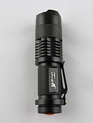 Torce LED LED 350 Lumens 1 Modo LED 14500 Messa a fuoco regolabile / RicaricabileCampeggio/Escursionismo/Speleologia / Uso quotidiano /
