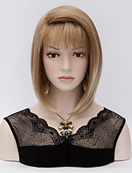Short Fashion Angel Wigs heat resistant Brown bob Wig