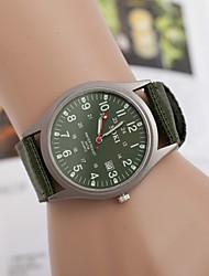 fahion currem pulseira de metal relógio