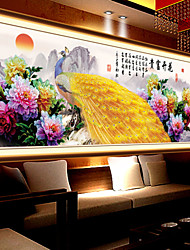 5D Diamonds Latest Painting The Living Room Wall Picture Blossoming Sharp Diamond Stitch Embroidered Peacock Fig Paste