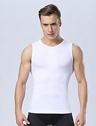 homens Quick Dry esportes top homens respirável tanque bodybuilding ginásio de fitness compressão sem mangas calças justas camiseta colete