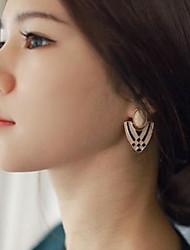 Geometric Amorous Feelings Of Fashion  Earrings Rhinestone Drop Earrings