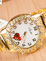 Lady'S Fashion Roman Numerals Swiss Eyes Alloy Quartz Watch Men And Women With Steel Band Watches Cool Watches Unique Watches