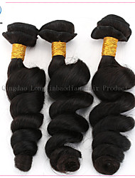 6A 3 Bundles Loose Wave Superior Quality Fasionable Cheap Price Natural Color Hair Virign Remy Brazilian Hair Weft
