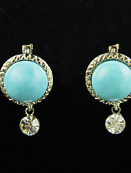 Women's Fashion Blue Earrings