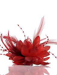Свадебные цветы В свободной форме Розы Букетик на запястье Свадьба Партия / Вечерняя Тюль Кожа Шифон