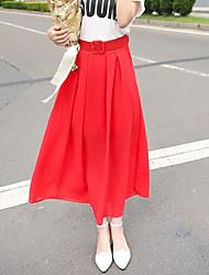 Women's Bohemian Chiffon Skirts