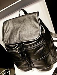 2015 nueva moda mochila de cuero suave de la PU