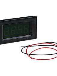 7В до 15В постоянного тока зеленый светодиод вольт напряжения метр вольтметр
