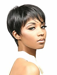 Short Straight hair Black African American wigs for women