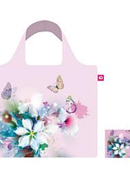 Floral Fashion OL Foldable Reusable Bag,Eco Shopping Folding Bag,Free shipping Eco Bag,Handbag Factory Outlet