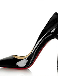 Vinda Women's Shoes Black/Blue/Red Stiletto Heel 10-12cm Pumps/Heels (PU)