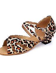 Andere - 3-6cm - Mädchenschuhe - Sandalen ( Satin , Leopard )