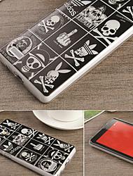 para Xiaomi redmi projeto do caso nota de colorido desenho ou padrão TPU material da tampa traseira
