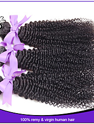 Unprocessed Daishang Hair Products 1Pcs/Lot Indian Virgin Hair Kinky Curly 100% Indian Remy Hair