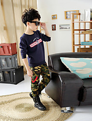 Boy's Fashion Leisure Camouflage Pants