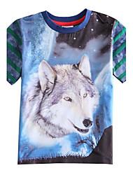 Katoen/Polyester - Zomer - Boy's - T-shirt - Korte mouw