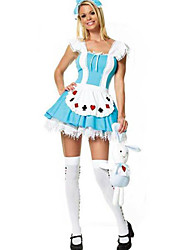 Lively Alice Short Sleeves Female Maid Uniforms