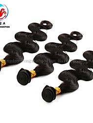 3 Bundles 6A Body Wave Fashionable Best Quality 1B Wholesale Price 100% Unprocessed Virgin Brazilian Hair Weaving