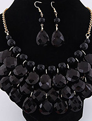 Colorful day  Women's European and American fashion necklace-0526048