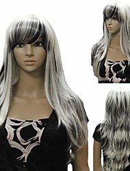 European Style Popular Long Hair Wigs Hair Wave Synthetic Hair Wigs Cosplay Hair Wigs