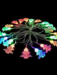 2w 4 metro di diametro esterno 20pcs lampadina led stringa modellazione illuminazione luci dell'albero di Natale, colore rgb