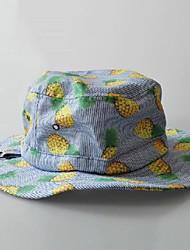 Современный мило желтый узор ананас высокое качество шляпа для ребенка