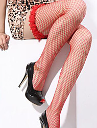 Mei fire ® Sexy bud lace long barrel fishnet stockings temptation