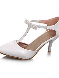 Women's Shoes Low Heel Heels/Pointed Toe Pumps/Heels Office & Career/Dress/Casual Blue/Green/Red
