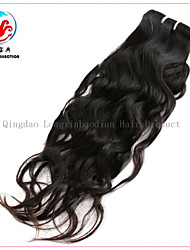 Wholesale 18 Inch 7A Human Hair Natural Wave Full Cuticle Virgin Remy Hair Weft