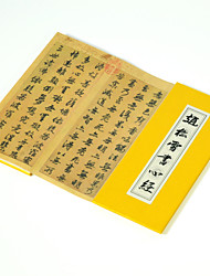 caligrafia chinesa prajna paramita sutra por Zhao Songxue / fricção de pedra