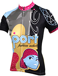 PaladinSport Women Short Sleeve Cycling Jersey New Style Diamonds DX533 100% Polyester