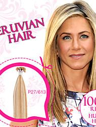 Piano Color Pre-bonded U-tip/ Nail tip 100% Peruvian Remy Human Hair Extensions Ty.Hermenlisa