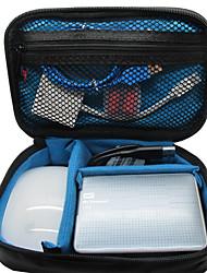 Khanka piccolo sacchetto portatile organizzatore di viaggi impermeabile per accessori elettronici